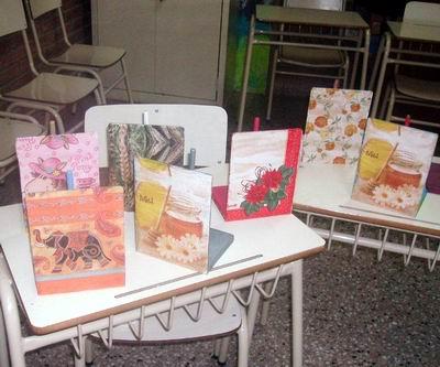 Parte de la muestra realizada (Foto: Prensa escuela).