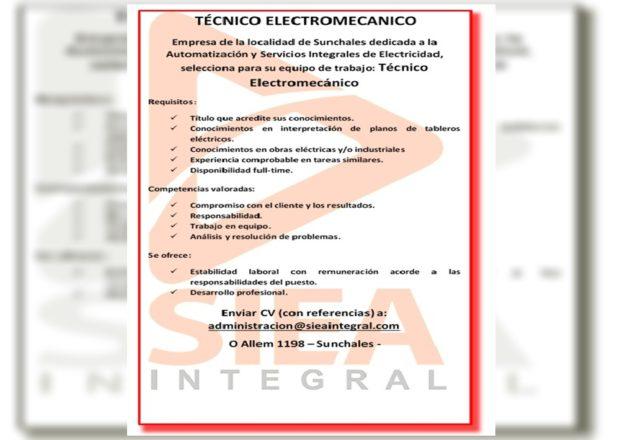 Aviso Electromecánico