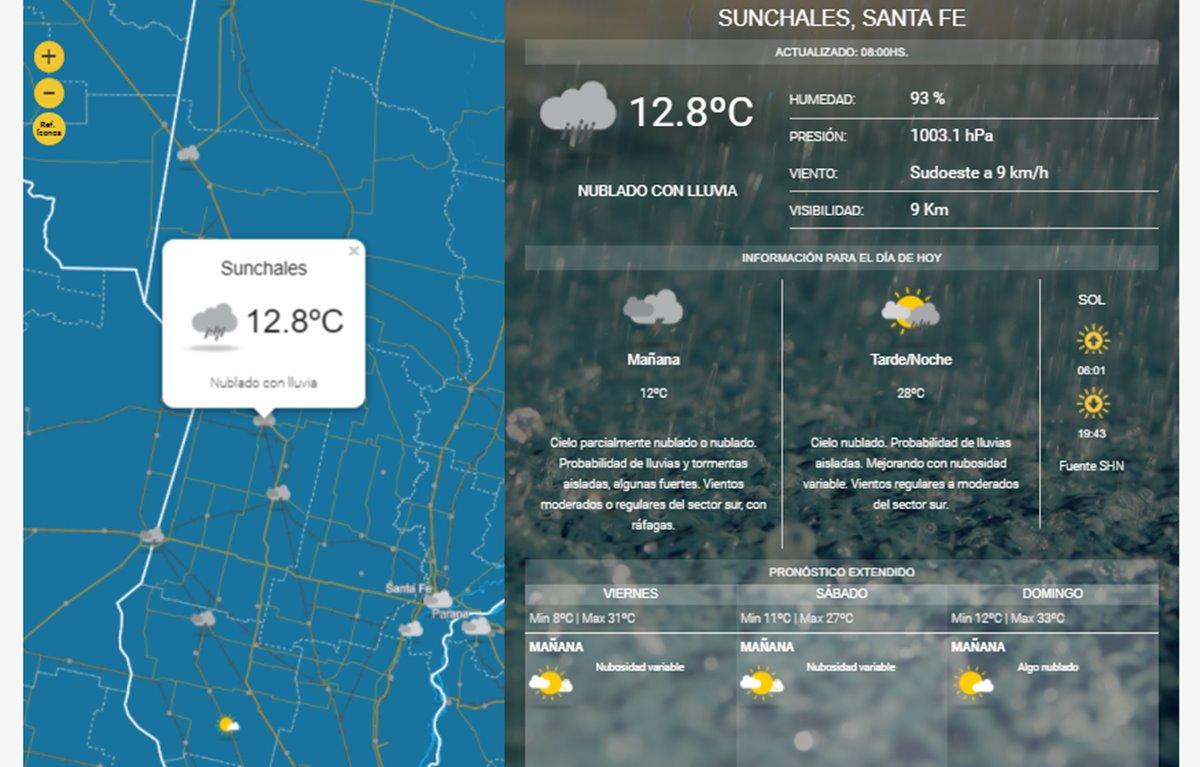 Alerta meteorológico: Tormentas, viento y granizo en el sudeste bonaerense
