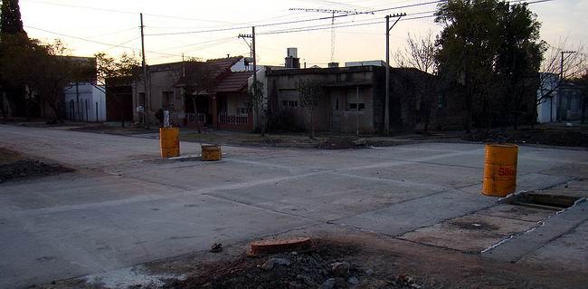 El pavimento será la vedette de las obras públicas locales en 2011 (Archivo).