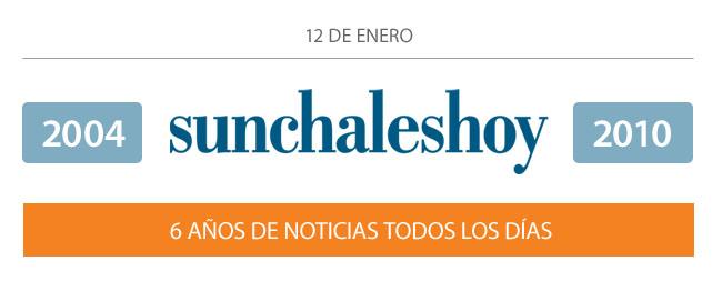 sunchaleshoy, 6 años de noticias todos los días.