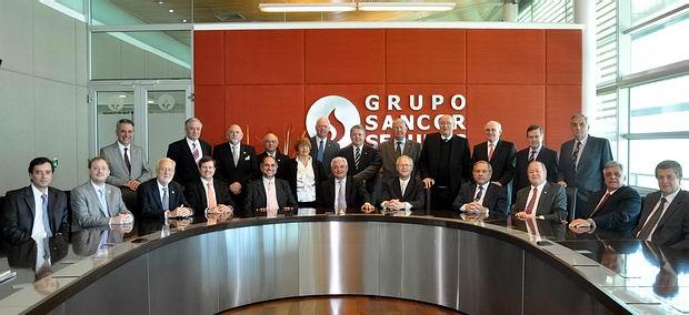 Los integrantes del Consejo de Administración para el Ejercicio 2014 (Foto: Grupo Sancor Seguros).