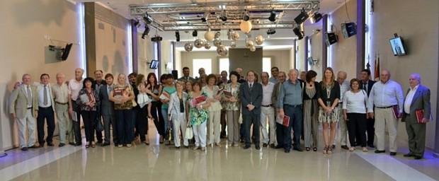 Los presentes en el acto por los 30 años de la Democracia local.