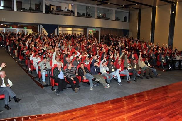 Tras la presentación se realizó una jornada de capacitación para los trabajadores lecheros.